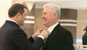 Vladimir Voronin se teme pentru cernoziomul moldovenesc