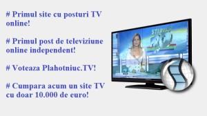 Despre Plahotniuc.TV si televiziunea online