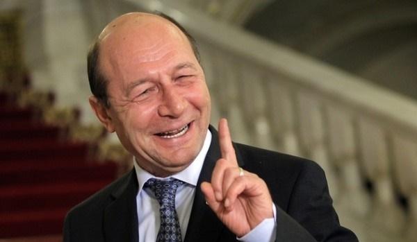 Traian Basescu in MD