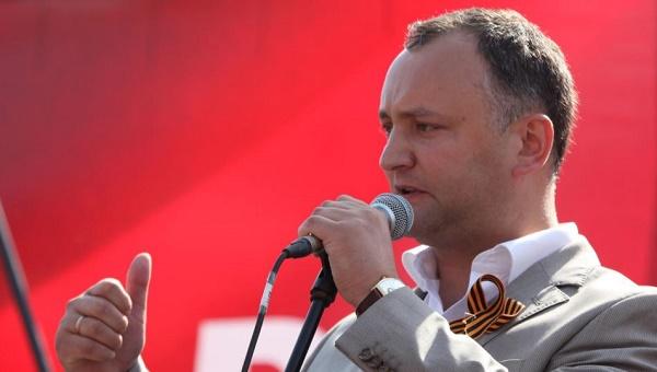 Igor Dodon presedinte