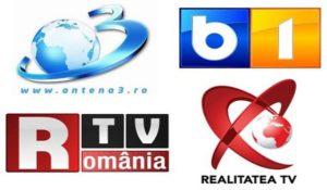 Televiziunile din Romania impartite intre partide