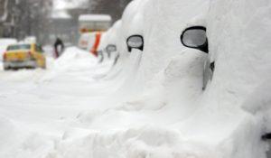 Iarna a cuprins Romania si Republica Moldova