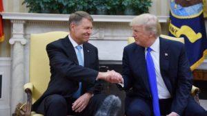 Klaus Iohannis in vizita oficiala la Donald Trump