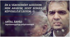 Antal Arpad Andras nu suporta romanii in Tinutul secuiesc