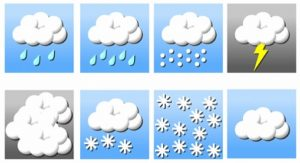 Avertizare de vreme rea in urmatoarele zile