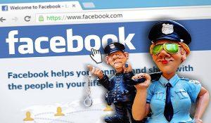 Amenda pentru postari pe FaceBook