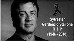 Actorul Sylvester Stallone a murit! – FALS!