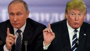 Trump si aliatii din Marea Britanie si Franta vs Putin