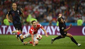 Rusia invinsa la penalty-uri de Croatia