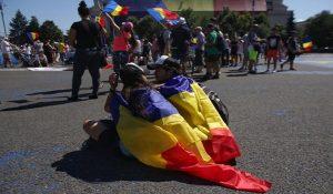 LiveText: a inceput protestul in Piata Victoriei