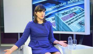 PPE si ALDE o sustin pe Laura Codruta Kovesi
