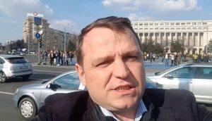 Andrei Nastase alaturi de Stefan Mandachi la proteste