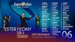 Romania si Moldova nu intra in finala Eurovision 2019