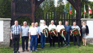 Cimitirul din Valea Uzului, Csaba Borboly  si manipularea