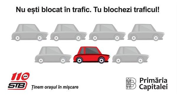 Blocați în trafic
