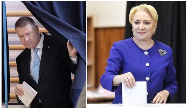 Iohannis versus Dancila